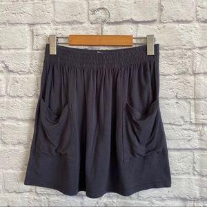 4/$20🍄 ARITZIA TALULA Elastic Waist Skirt Pockets